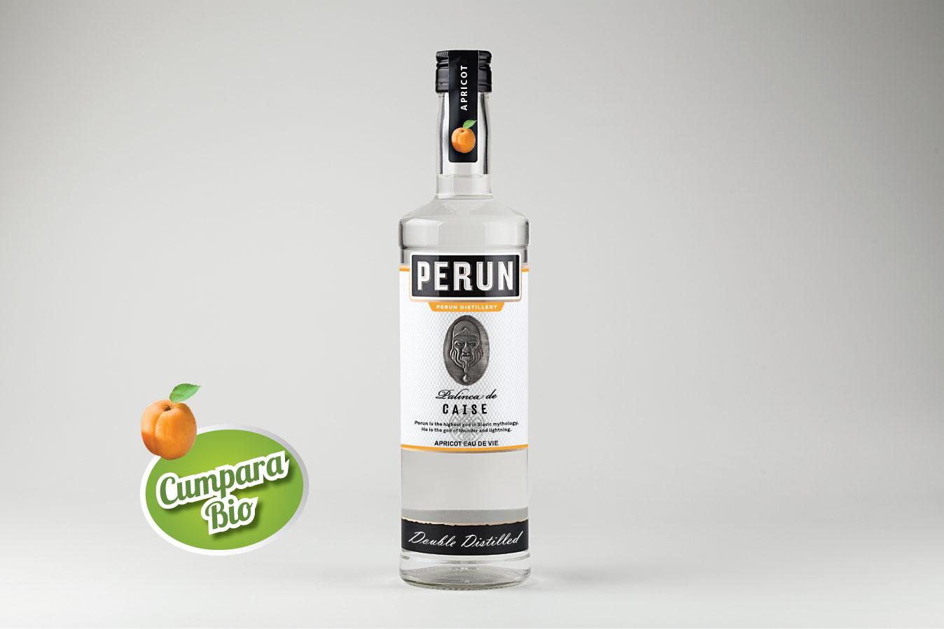 Perun Apricot Brandy 1000ml  alc.40%vol.