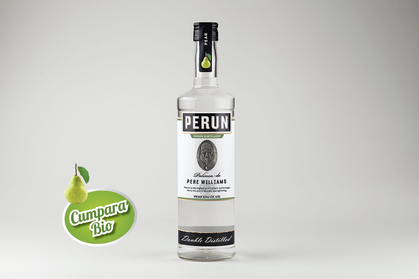 Perun Pear Brandy 1000ml alc.40%vol.