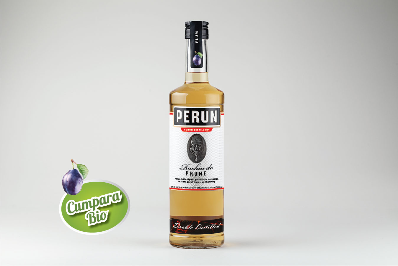 Perun Plum Brandy & Caramel 1000ml alc.25%vol.